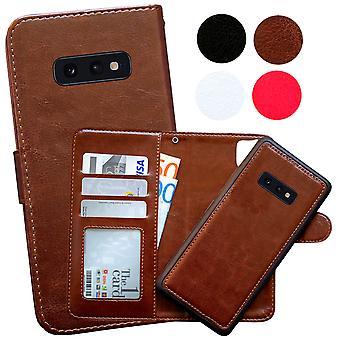 Samsung Galaxy S10e-Leather Case/Cover