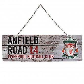 Panneau de jardin rustique de Liverpool