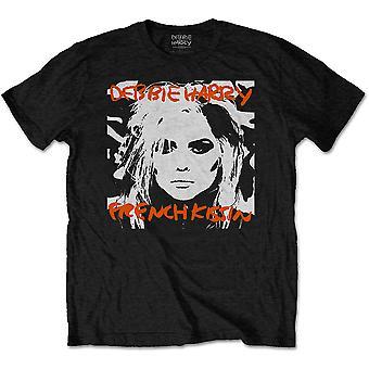 Debbie Harry - French Kissin' Men's Large T-Shirt - Black