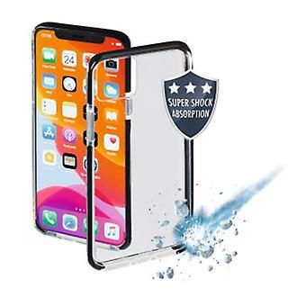 Hama Protector funda de teléfono móvil Cubierta Negro,Protector transparente, Cubierta, Manzana, Apple iPhone XI, Negro,Transparente