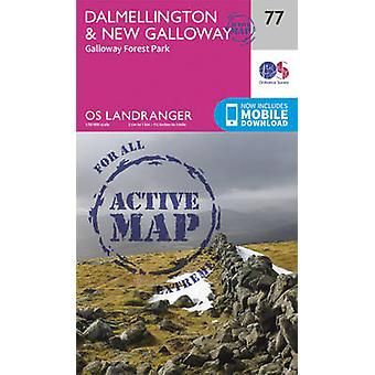 Dalmellington  New Galloway Galloway Forest Park by Ordnance Survey
