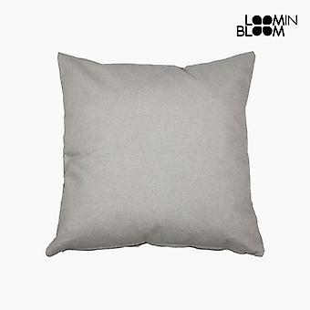 Tyyny (60 x 60 x 10 cm) puuvilla ja polyesteri Harmaa