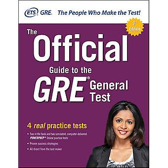 The Official Guide to the GRE General Test Third Edition TEST PREP