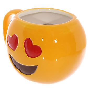 Smiling Face Expression Ceramic Cup Cartoon Emotions-cool Mug Coffee Cup