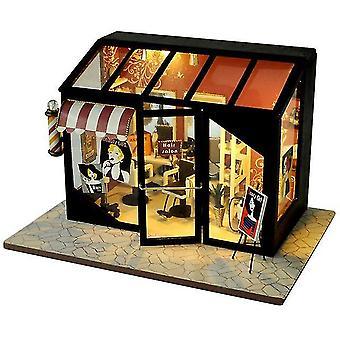 Cutebee diy domek dla lalek drewniane domki dla lalek miniaturowy zestaw mebli dla lalek zabawki dla dzieci