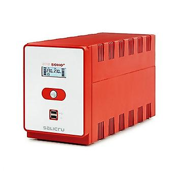 Offline UPS Salicru 647CA000004 720W punainen