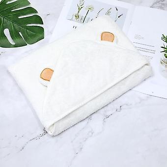 Söpö eläimen muoto hupullinen vauvan pyyhe, kylpytakki