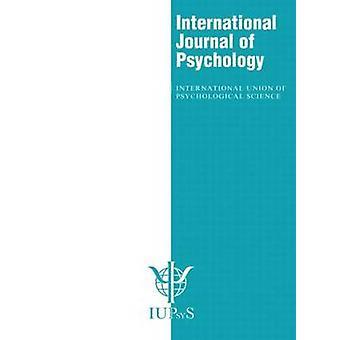 XXX International Congress of Psychology Abstracts 47 Speciale nummers van het International Journal of Psychology