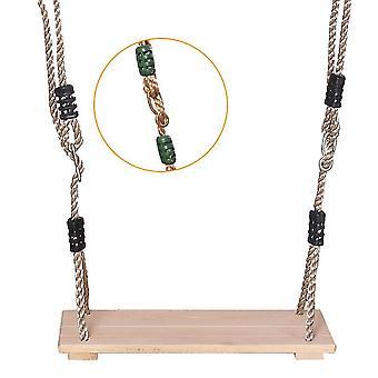 Faironly Classic Trä Swing Säte med stark rep