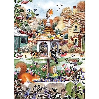 Otter House First Snowfall Jigsaw Puzzle (1000 Pieces)