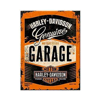 Harley Davidson Motorcykel Nostalgisk Metal Magnet - Cracker Filler Gift