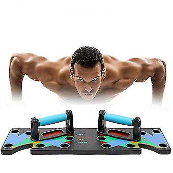 9 In 1 Push-up Rack Training Board Abs Abdominal Muscle Trainer Sports Home Fitness Equipment