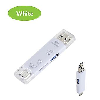 Memory card readers otg usb card reader type-c microusb usb3.0 All-in-1 high-speed otg tf/usb for android