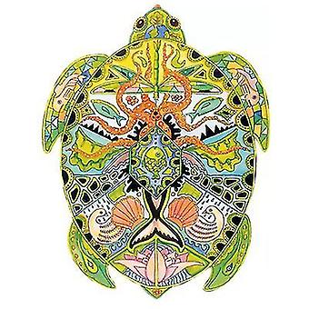 Sea Turtle Jigsaw Puzzle Gioco a pezzi per bambini e adulti(A5)