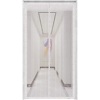 La porte à écran magnétique s'adapte aux portes jusqu'à 38 «x82»