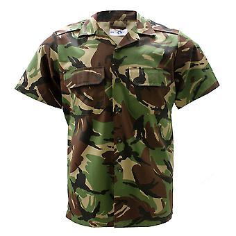 Militär armé Combat Shirt Kortärmad jacka