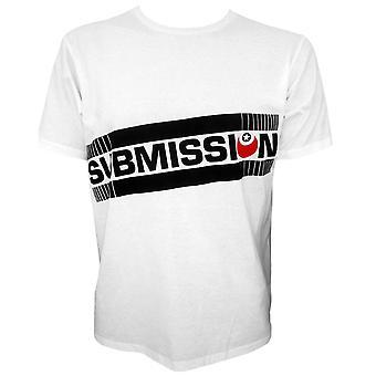 Submission Slanted Logo T-Shirt - White