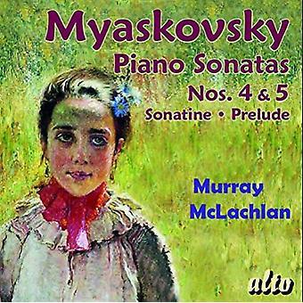 Miaskovski / McLachlan - Sons de Piano 4 & 5 [CD] USA import