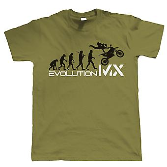 Evolution of Motocross, Mens Motorbike T Shirt