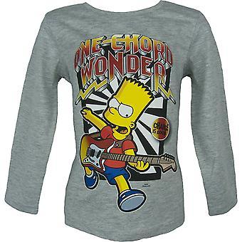 Bart Simpson Boys Long Sleeve Top