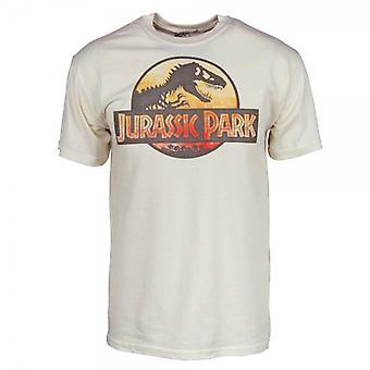 Jurassic Park Mens Jurassic Park T Shirt natuurlijke