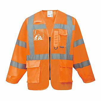 Portwest - Hi-Vis bezpieczeństwa Executive Odzież robocza kurtka