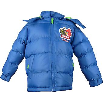 Boys Angry Birds HO1218 Winter Hooded Puffer Jacket
