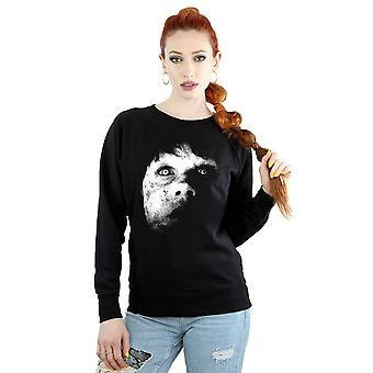 The Exorcist Women's Regan Demon Face Sweatshirt