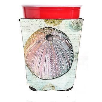 Carolines skatter SB3046RSC Anemone röd Solo Cup dryck isolator Hugger