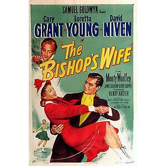 O Poster do filme mulher bispos (11 x 17)