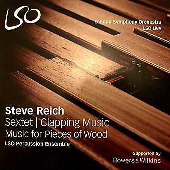 Reich / Lso Percussion Ensemble - Sextet Clapping Music & Music for Pieces of Wood [Vinyl] USA import