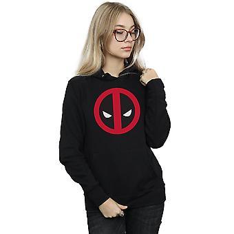 Marvel kobiet Deadpool duże czyste Logo Bluza z kapturem