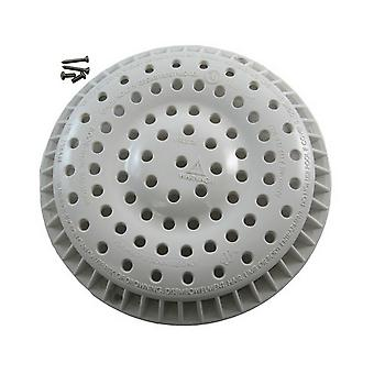 "Waterway 642-2150 8"" Anti-Vortex Main Drain Cover - White"