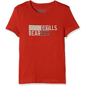 Craghoppers Boys Bear Grylls Wicking Breathable Printed T Shirt