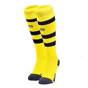 2018-2019 Borussia Dortmund domicile Puma chaussettes (jaune)