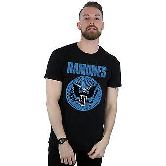 Ramones Blue sinetti Logo t-paita
