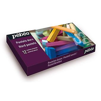 Pebeo Hard Pastels 12 Set