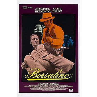 Borsalino elokuvan juliste (11 x 17)