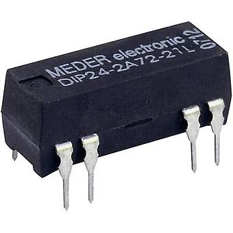 StandexMeder Electronics DIP12-2A72-21L Reed relay 2 makers 12 V DC 0.5 A 10 W DIP 8