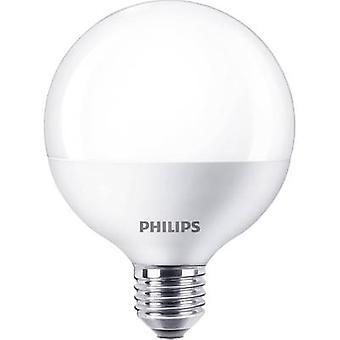 Philips Lysled (monokrom) EEC A+ (A++ - E) E27 Globe 9,5 W = 60 W Varm hvit (Ø x L) 95 mm x 128 mm 1 stk(er)