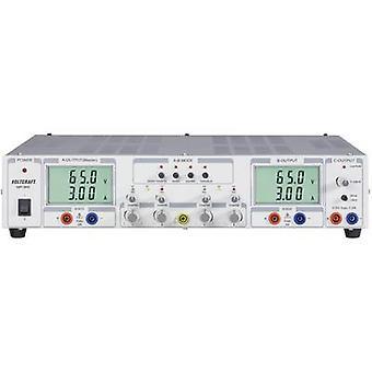 VOLTCRAFT VSP 2653 Bench PSU (adjustable voltage) 0.1 - 65 V DC 0 - 3 A 399 W No. of outputs 3 x