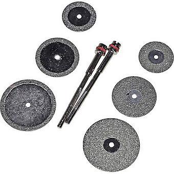 RONA 6 DISQUES POUR COUPER ET LIMER 8pcs Diamond grinding and blade set Shank diameter 2,35 mm 1 Set