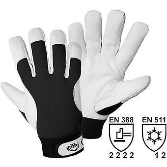 L + D Griffy 1707 nappa werk handschoen maat (handschoenen): 9, L EN 388, EN 511 CAT II 1 paar