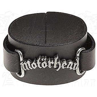 Pulsera de cuero Motorhead Logo