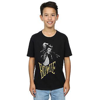 David Bowie pojkar skriker foto T-Shirt
