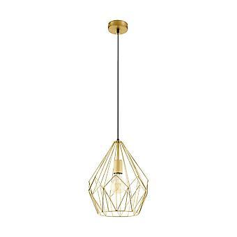 EGLO Carlton fil d'or Pendentif géométrique Light