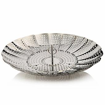 Vegetable Steamer Steaming Basket | Inox Steel | Steamer for Vegetables | Healthy Cooking