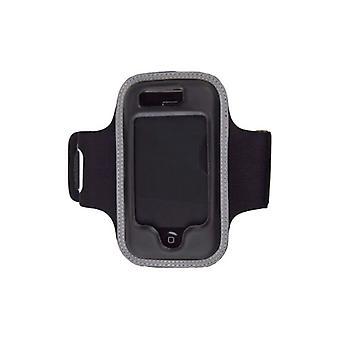 5 pack-Premium armband/fodral med justerbar rem för Apple iPhone 3G/3GS
