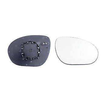 Rechter bestuurderszijde spiegelglas (verwarmd) & houder voor NISSAN JUKE 2010-2014