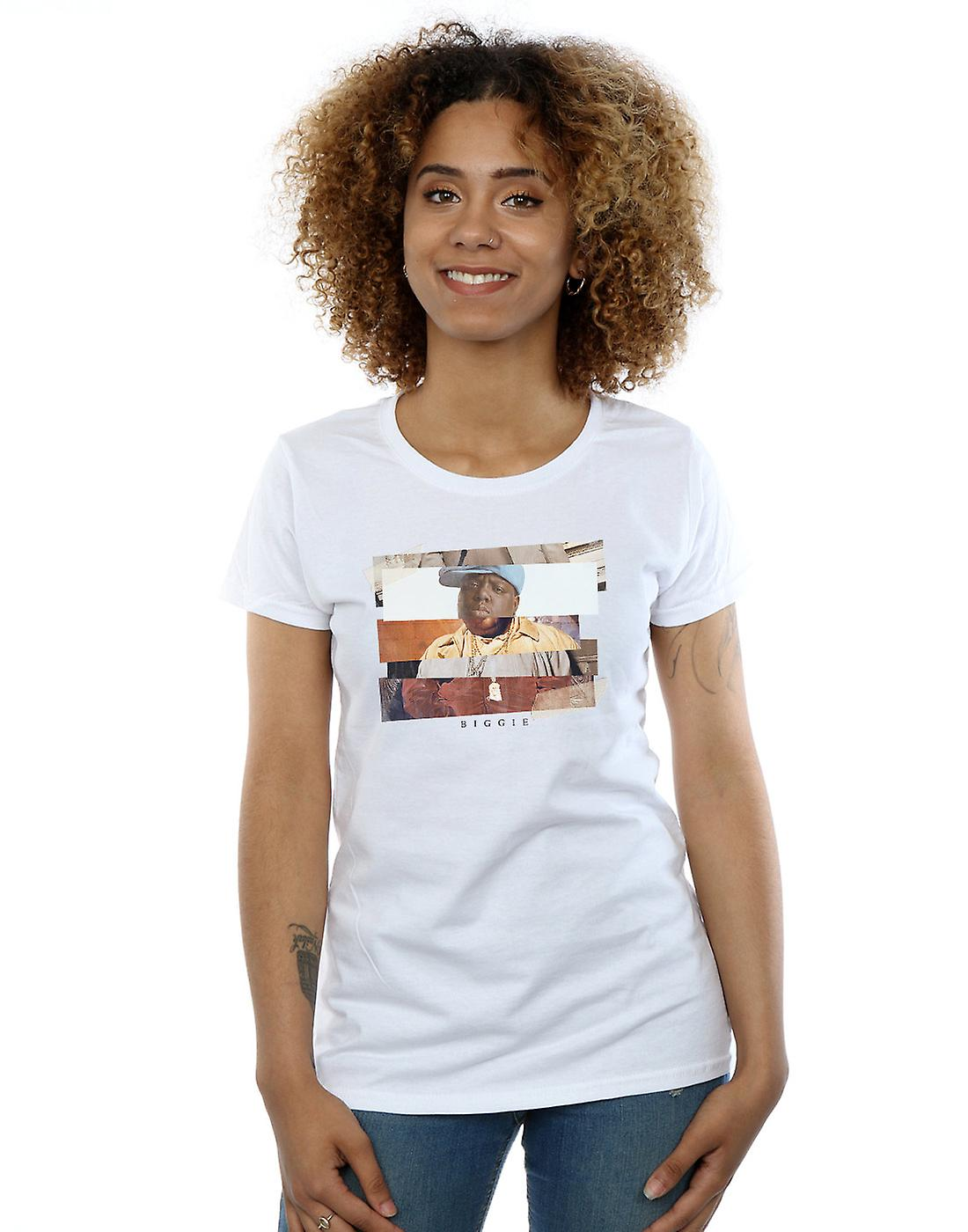 Notorious BIG Women's Sliced Photo T-Shirt